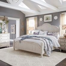 See Details - Queen Poster Bed, Dresser & Mirror, Night Stand