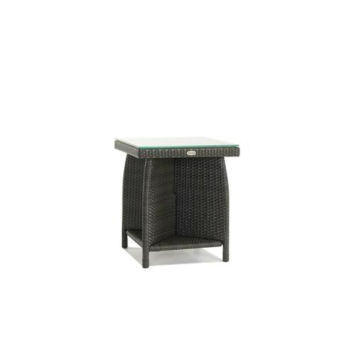 Palm Harbor End Table w/Clear Glass