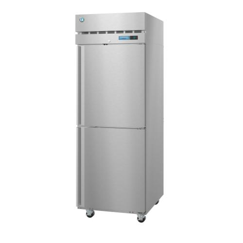 F1A-HS, Freezer, Single Section Upright, Half Stainless Doors with Lock