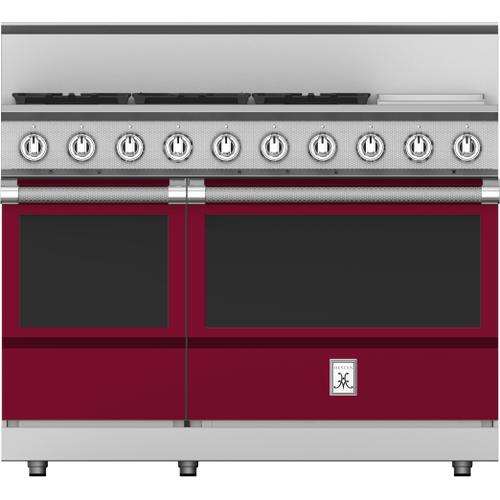 "Hestan - 48"" 5-Burner All Gas Range with 12"" Griddle - KRG Series - Tin-roof"