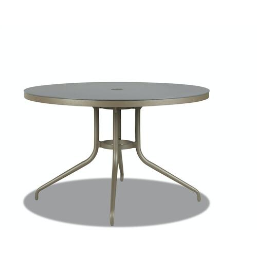 """Klaussner Outdoor - Urban Retreat 48"""" Round Dining Table"""