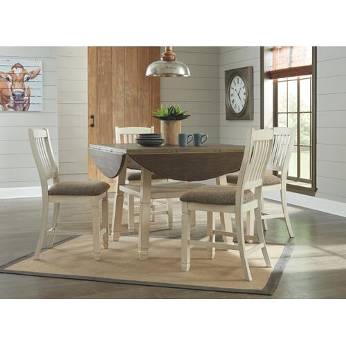 Bolanburg Counter Height Dining Room Drop Leaf Table