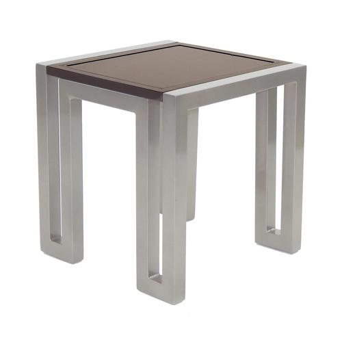 """Castelle - 21"""" Icon Square Side Table"""