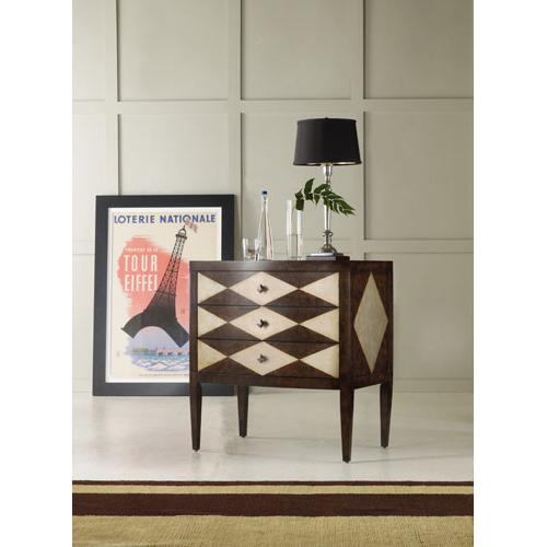 Product Image - Three-Drawer Diamond Motif Chest-Floor Sample-**DISCONTINUED**
