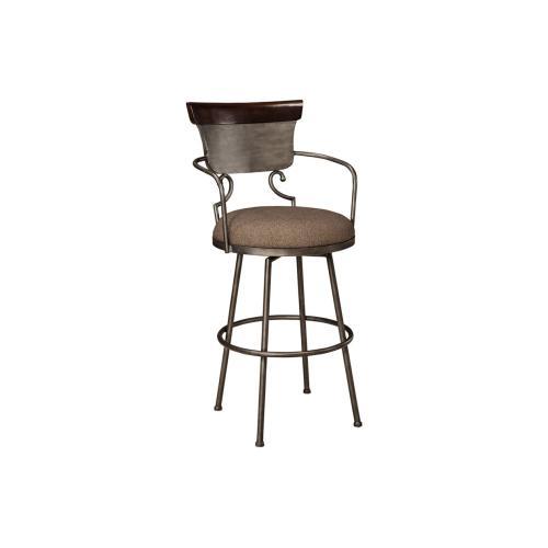 Moriann Tall Upholstered Bar Stool
