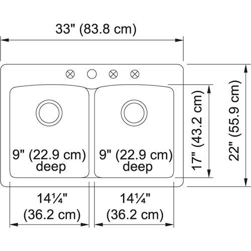 Franke - Ellipse EDSG33229-1 Granite Stone Grey