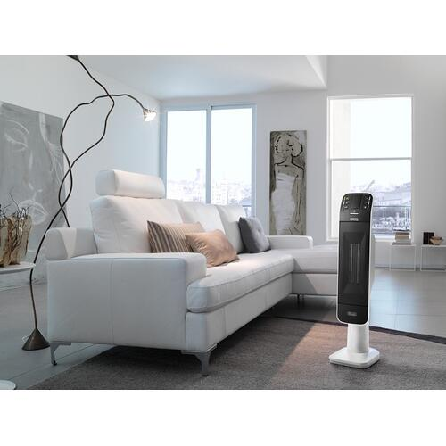 "Digital Ceramic Tower Heater, 28"" + Remote Control - HFX66V15C"