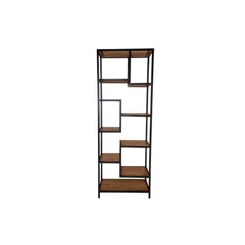 Porter International Designs - Delancy Offset Bookshelf, ART-3263