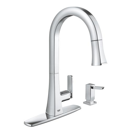 Tallinn Single-handle Pull-out Kitchen Faucet