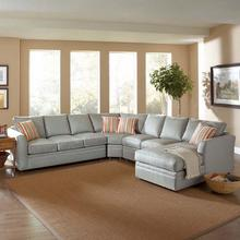 See Details - Northfield Four-Piece Chaise Sectional