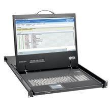 1U Rack-Mount Console with 19 in. LCD, 1920 x 1080 (1080p), DVI or VGA Video, TAA