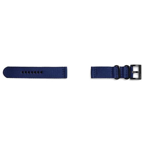 Textile strap (22mm) Navy