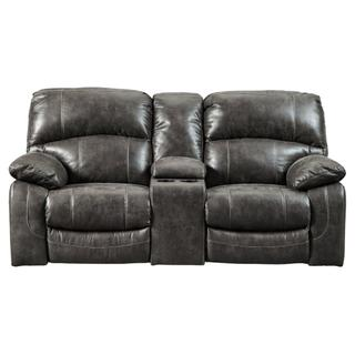 See Details - Dunwell Power Reclining Loveseat With Console