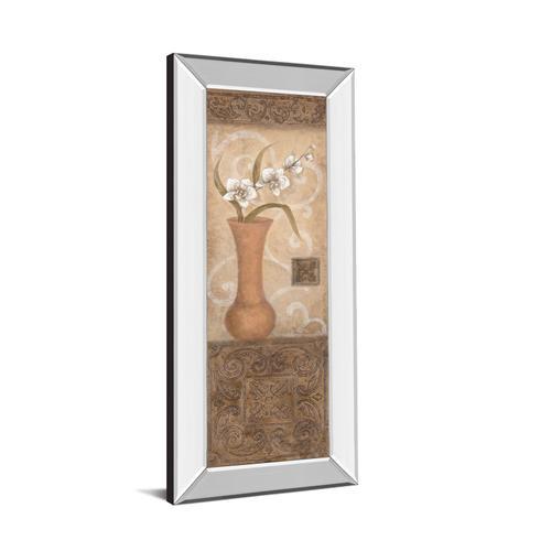 """Flower Pot I"" Mirror Framed Print Wall Art"