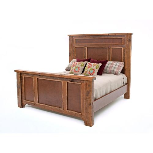 Pagosa Springs - Bed - King Headboard Only With Barnwood Panel