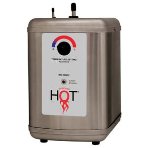 - Tank provides up to 60 cups of hot steaming water (200°) per hour Product Image