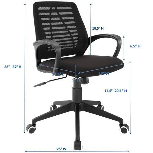 Ardor Office Chair in Black