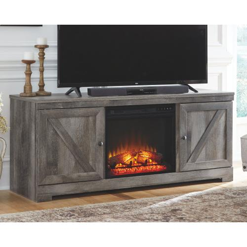 """Product Image - Wynnlow 63"""" TV Stand With Fireplace"""
