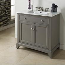 "See Details - Smithfield 36"" Vanity - Medium Gray"