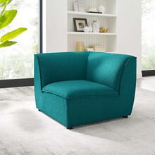 Comprise Corner Sectional Sofa Chair in Teal