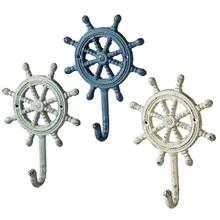 Ship Wheel Wall Hook (3 asstd)