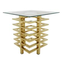 Metal Stacked Side Table, Gold