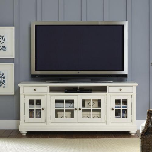 """Liberty Furniture Industries - 74"""" Entertainment TV Stand"""