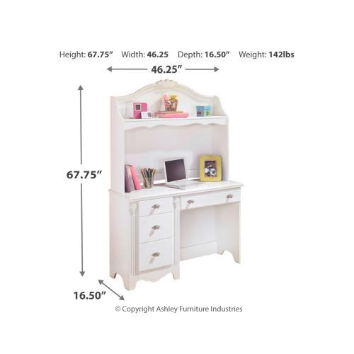 Signature Design By Ashley - Exquisite Desk and Hutch