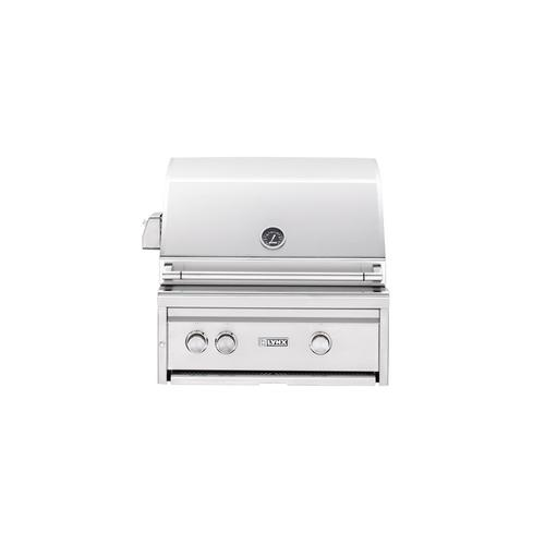 """27"""" Built-in Grill with Rotisserie (L27R-2) - Liquid propane"""