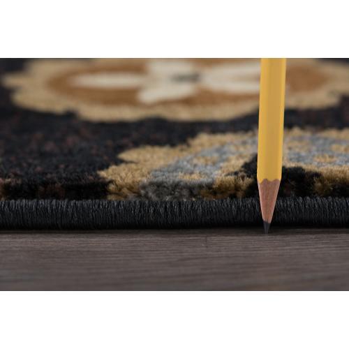 Impressions - IMP7813 Black Rug