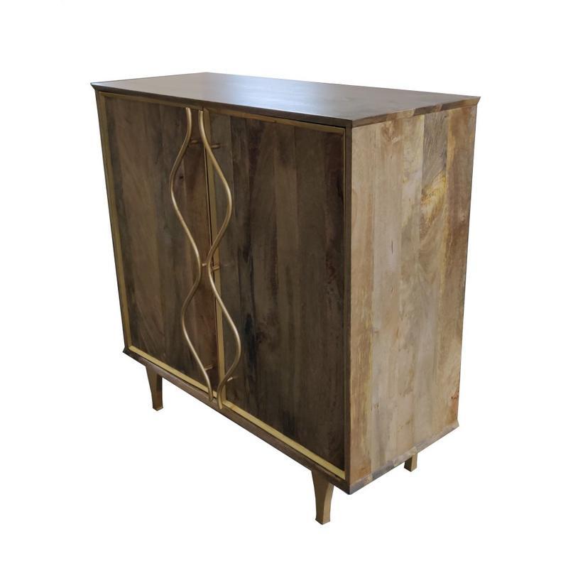 Wentworth 2 Door Mango Wood Cabinet