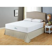 Blue River Gel-Infused Green Tea Memory Foam 12 Inch Mattress, King