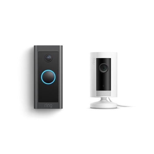 Video Doorbell Wired + Indoor Cam - White