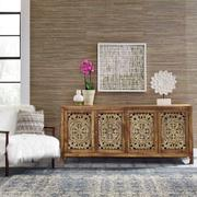 74 Inch 4 Door Accent TV Stand Product Image