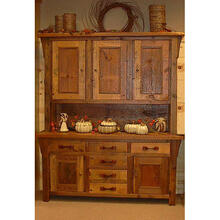 See Details - Stony Brooke - 3 Door Hutch With Panel Doors and 6 Drawers