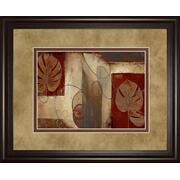 """Inspiration In Crimson"" By Patricia Pinto Framed Print Wall Art Product Image"