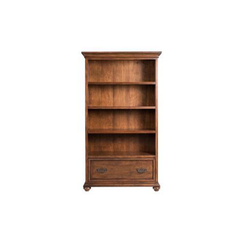Open Bookcase - Classic Cherry Finish