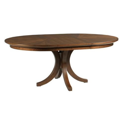 Warner Round Dining Table Complete
