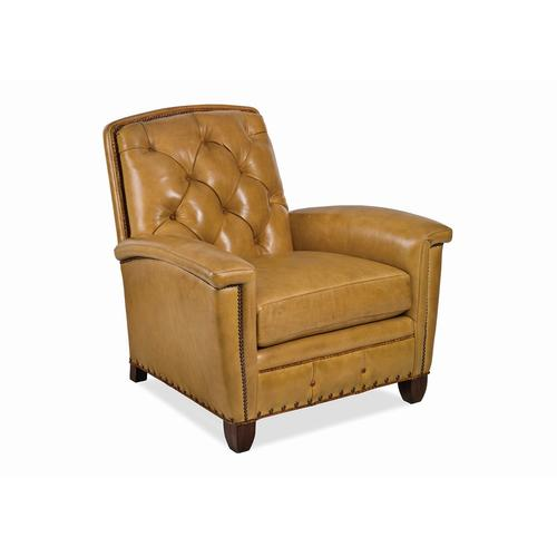 French Curve Tufted Chair