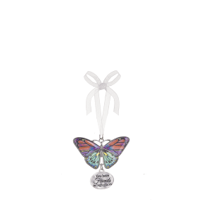 Blissful Journey Butterfly Ornament - You have Friends in high places