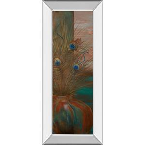 "Classy Art - ""Secret World I"" By Hakimipour-Ritter Mirror Framed Print Wall Art"