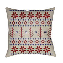 "FAIR ISLE III PLAID-014 18"" x 18"""
