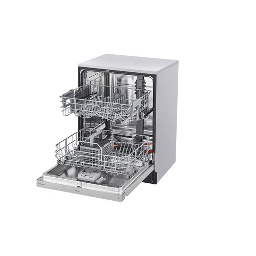Front Control Smart wi-fi Enabled Dishwasher with QuadWash™