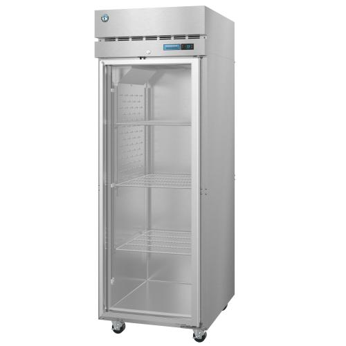 R1A-FG, Refrigerator, Single Section Upright, Full Glass Door with Lock