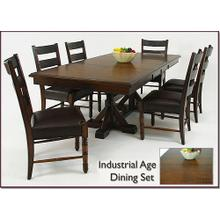 See Details - Trestle Table with Base