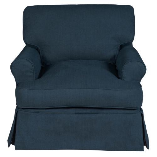 Horizon Slipcovered T-Cushion Chair - Color 391049