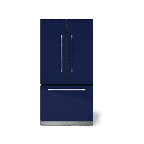 "AGA - AGA Mercury 36"" French Door Refrigerator, Blueberry"