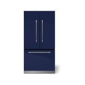 "AGA Mercury 36"" French Door Refrigerator, Blueberry"