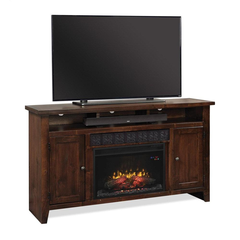 "Aspen Furniture - 63"" Fireplace Console"