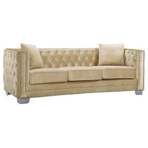 """Reese Velvet Sofa - 86.5"""" W x 34.5"""" D x 30"""" H"""